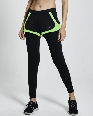 SuperFlex Running 2-IN-1 Pant (Green)
