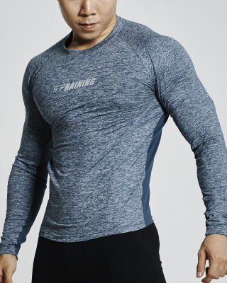 Ventilated Compression Long Sleeve Shirt (Green)