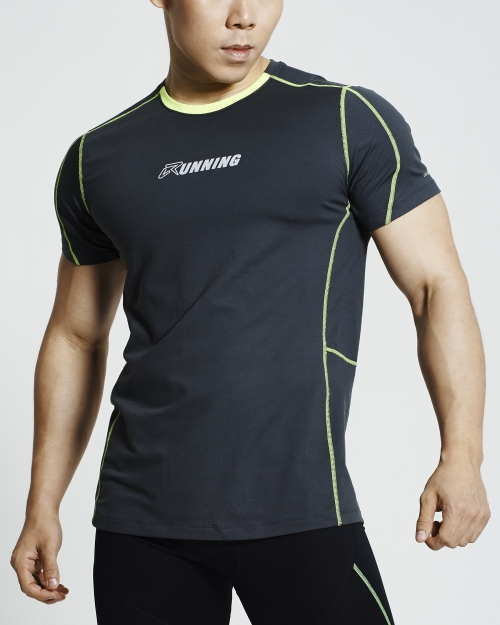 Supercool Running Shirt (Grey)