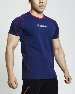 Supercool Running Shirt (Navy)