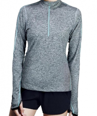 BE-Geared Running Long Sleeve Shirt (Blue)