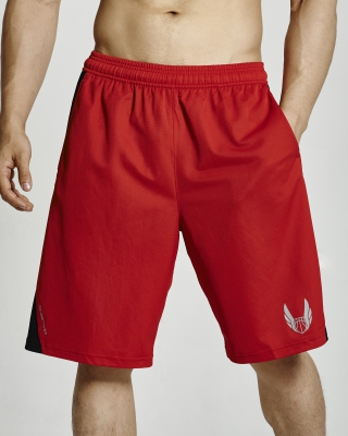 Light Weight Basketball Shorts (Red)