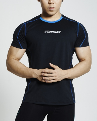 Supercool Running Shirt (Black)