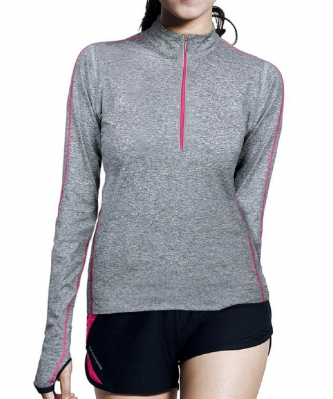 BE-Geared Running Long Sleeve Shirt (Pink)
