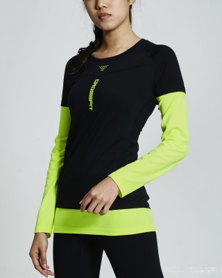 Crossfit Long Sleeve Tops (B/G)