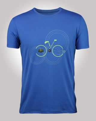 Supple Flexi Tee (Blue)