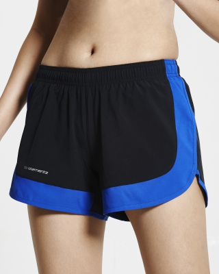 Two-in-One Training Shorts (Blue)