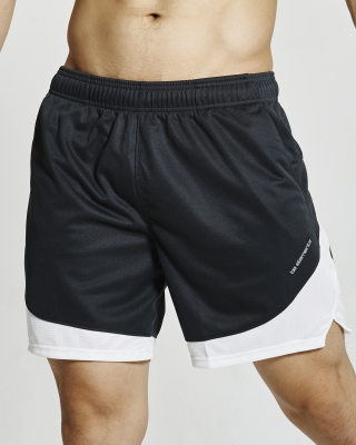 Semi-Circle Flexi Training Shorts (Grey)