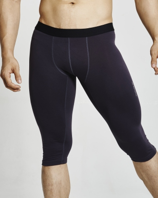 Quick Response Training Tight  (Dark Purple)