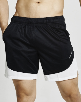 Semi-Circle Flexi Training Shorts (Black)