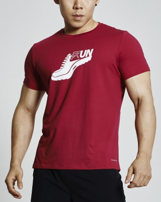 Glister Running Shirt (Red)