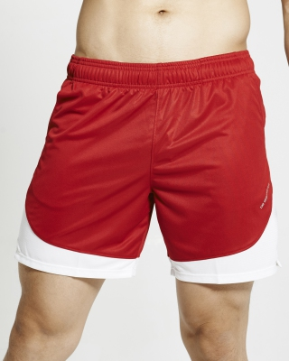 Semi-Circle Flexi Training Shorts (Red)