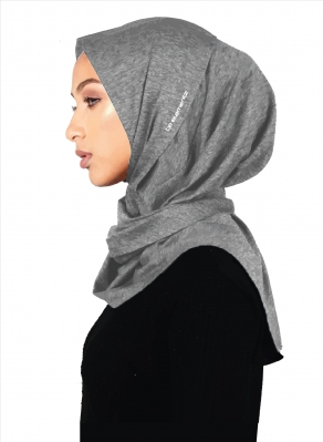 Born2Empower Hijab (Great Grey)